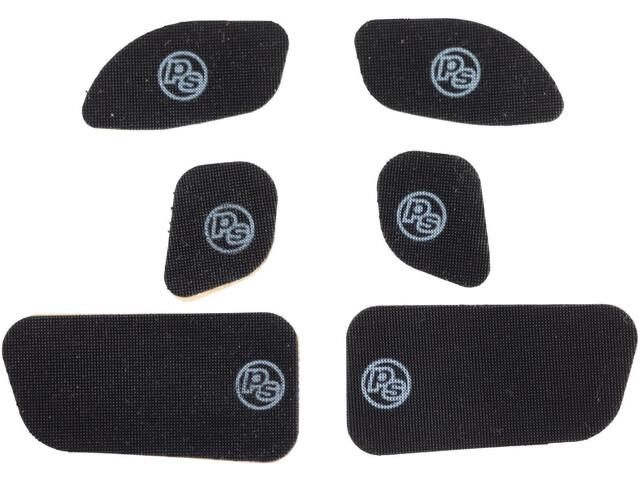 Problem Solvers Lever Grippies Sticker SRAM MTB 6 Pieces, zwart